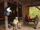 Fishbone and Tight-wad at Bryant Ridge Shelter, VA by Rain Man in Views in Virginia & West Virginia