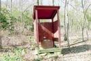 Deep Gap Shelter privy, GA by Rain Man in Deep Gap Shelter