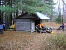 Saunders Shelter, Va by Rain Man in Virginia & West Virginia Shelters