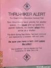 GSMNP Thru-Hiker Alert
