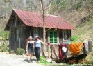 Hareball & Rocky at Standing Bear Farm, TN by Rain Man in Thru - Hikers