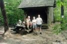 Hawk Mtn Shelter, GA by Rain Man in Hawk Mountain Shelter