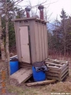 Icewater Springs privy, GSMNP by Rain Man in North Carolina & Tennessee Shelters