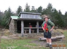 Rain Man at Icewater Springs Shelter, GSMNP by Rain Man in North Carolina & Tennessee Shelters