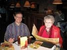 Mr & Mrs Just Plain Jim, Nashville dinner