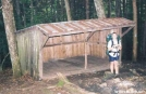 old Carter Gap Shelter, NC by Rain Man in North Carolina & Tennessee Shelters