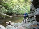 Patricia Below Laurel Fork Falls, Tn
