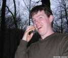 Pez calling home, GA by Rain Man in Thru - Hikers