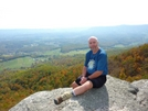 Rain Man On Pearis Mtn In Va