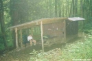 Rock Gap Shelter, NC by Rain Man in North Carolina & Tennessee Shelters