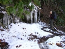 Ice & Snow in NC by Rain Man in Trail & Blazes in North Carolina & Tennessee