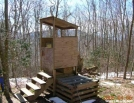 Spence Field privy, GSMNP by Rain Man in North Carolina & Tennessee Shelters