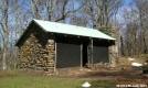 Spence Field Shelter GSMNP by Rain Man in North Carolina & Tennessee Shelters