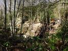 Crossing Fox Creek, Va by Rain Man in Trail & Blazes in Virginia & West Virginia