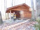 Hurricane Mtn Shelter, Va by Rain Man in Virginia & West Virginia Shelters