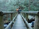 Comers Creek Footbridge, Va by Rain Man in Trail & Blazes in Virginia & West Virginia