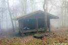 Tray Mtn Shelter, GA by Rain Man in Tray Mountain Shelter