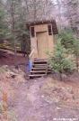 Tricorner Knob privy, GSMNP by Rain Man in North Carolina & Tennessee Shelters
