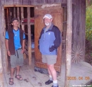 Turbo Joe and Vitaman, Standing Bear Farm by Rain Man in Thru - Hikers