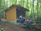 Watauga Lake Shelter, Tn by Rain Man in North Carolina & Tennessee Shelters