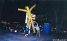 Balloon Man Dance by Hikerhead in Virginia & West Virginia Trail Towns