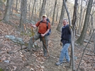 Jeff (j5man) And Carl (snowbird) Just North Of Scortched Earth Gap by Hikerhead in Trail & Blazes in Virginia & West Virginia