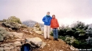 DebW and I on Little Haystack Mtn by Hikerhead in Views in New Hampshire