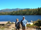 DebW and Hikerhead at Lonesome Lake