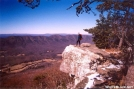 Mtn Goat on Tinker Cliffs by Hikerhead in Views in Virginia & West Virginia