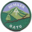 GA 80 miler patch