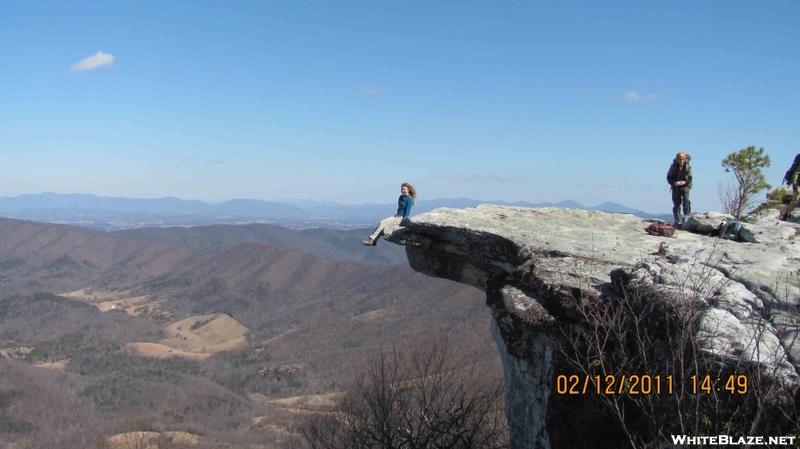Hiker Get Together - Roanoke - 2-12-11