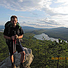 Bfitz on Tinker Mtn overlooking Carvins Cove.  6-6-12