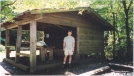 Muskrat Shelter by Hikerhead in North Carolina & Tennessee Shelters