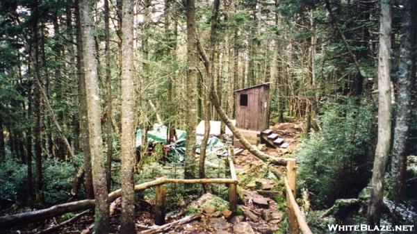 Liberty Springs Campsite Privy