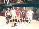 At Abol Bridge Campsite 9-30-04