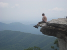 Mcafee Knob by jfarrell04 in Section Hikers