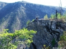 norm_climbing_Linville_Gorge by catscastle in Faces of WhiteBlaze members