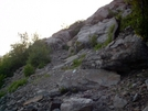 Trail Over The First Rock Slope At Lehigh Gap. by Strategic in Trail & Blazes in Maryland & Pennsylvania