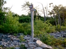 Winter Trail Junction Above Lehigh Gap by Strategic in Trail & Blazes in Maryland & Pennsylvania