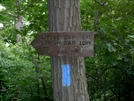 Sign Sobo For The Delp's Trail