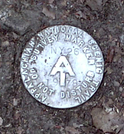 At Survey Marker At Little Dam Lake, Ny by Strategic in Sign Gallery