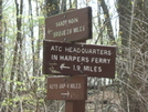 Harpers Ferry Sign