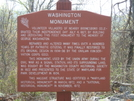 Washington Monument Sign by sasquatch2014 in Trail & Blazes in Maryland & Pennsylvania