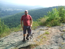 Sasquatch & Hank On Cat Rocks Near Pawling. by sasquatch2014 in Section Hikers