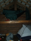 Loft Hanging by sasquatch2014 in Maryland & Pennsylvania Shelters