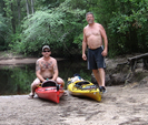 Son And I by kayak karl in Day Hikers