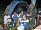 Dinner on Friday by Dharma in 2005 Trail Days