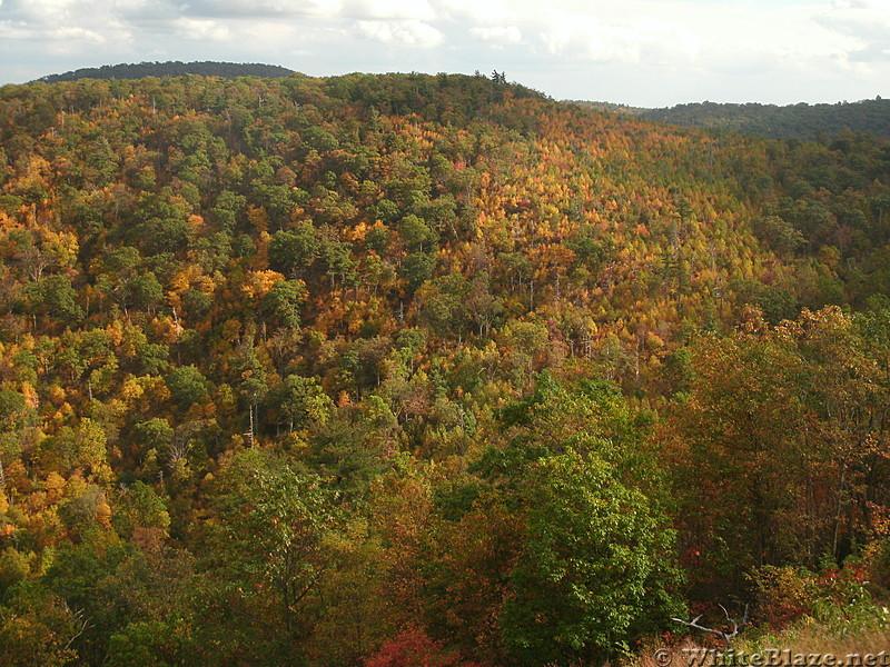 Fall foliage in Shenandoah, 2017 October
