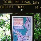Sign at Oliverian Brook