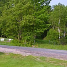 Parking Lot on High Road near Glencliff by GoldenBear in New Hampshire Trail Towns